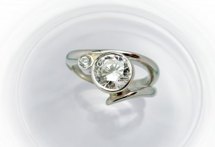A ring from the Harmony collection from Charmian Beaton.