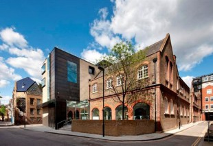 The award winning Goldsmiths' Centre in London's Clerkenwell.